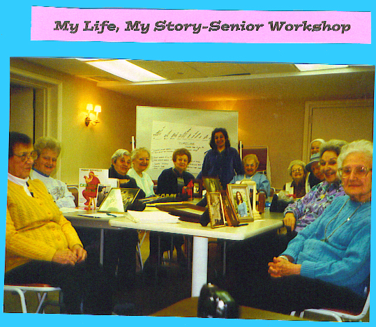 "Seniors in ""My Life, My Story"" Workshop"